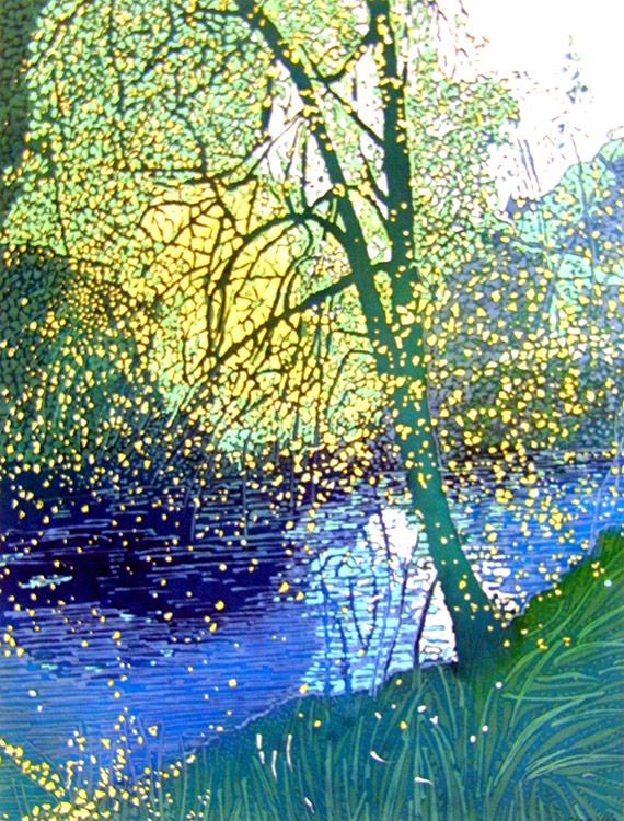 caryl-challis-spring-river-wax-batik