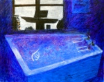 david-page-moonlight-in-the-bathroom-oil-on-canvas-80x100cm