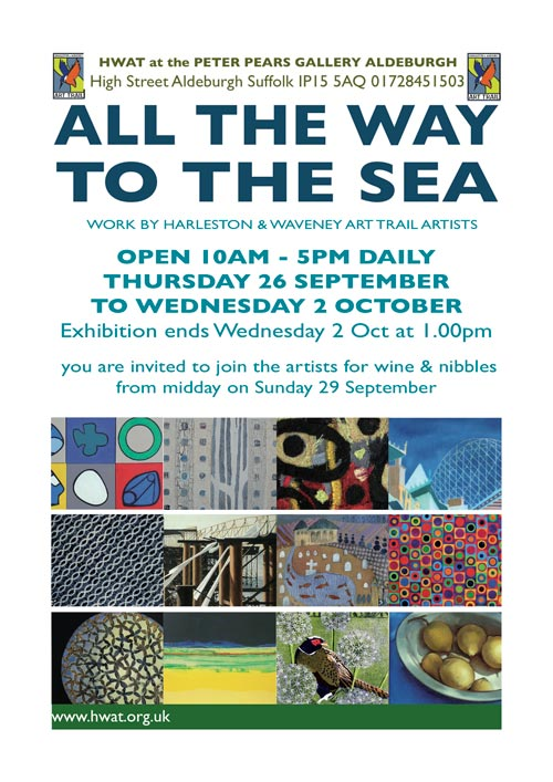 aldeburgh peter pears galley exhibition HWAt art trail artists