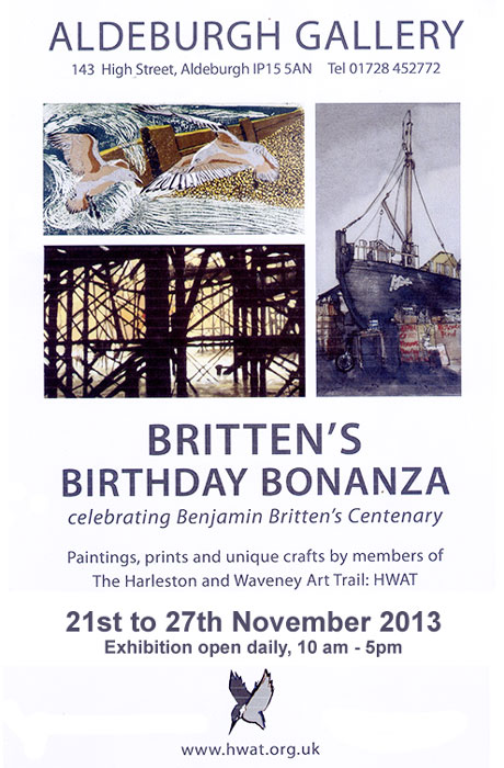 aldeburgh art gallery exhibition britten centenary 2013