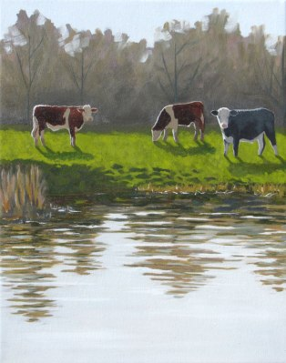Barbara Bernard, Bullocks on Outney Common