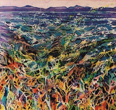 caryl challis batik artwork