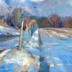mary-spicer-blue-sky-blue-shadows-oil-on-canvas-2012-50x50cm