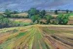 mary-spicer-thunder-sky-stubble-field-oil-on-canvas-2013-46x66cm