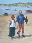 barbara-bernard-fishing-trip-oil-on-board-50x38cm