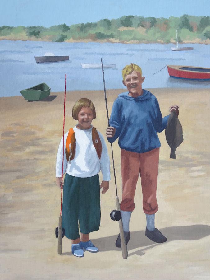 barbara-bernard-fishing-trip-oil-on-board-50x38cm
