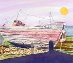 caryl-challis-aldeburgh-boat-wax-batik