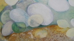 kath-wallace-pebbles-on-cove-hithe-beach-oils-on-canvas-53x43cm